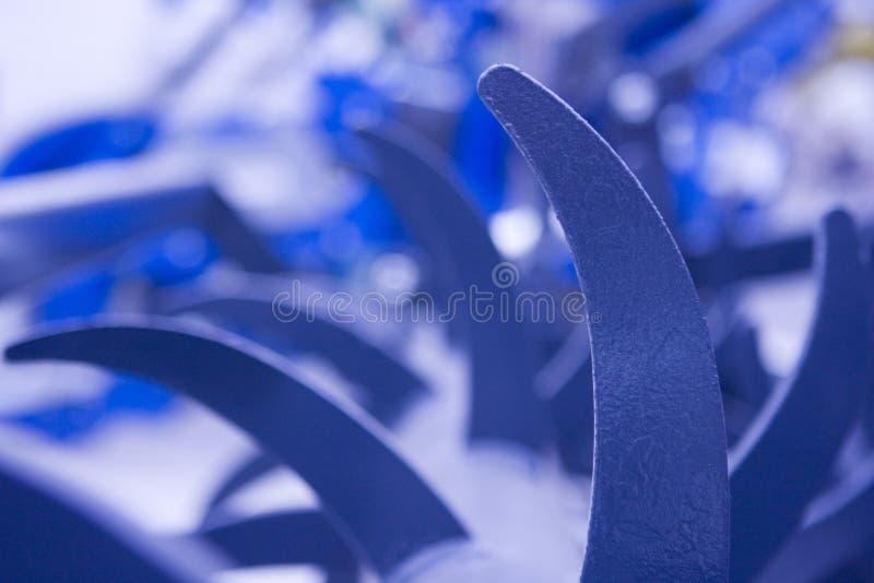 De apparatuur van het landbouwbedrijf detail stock foto's