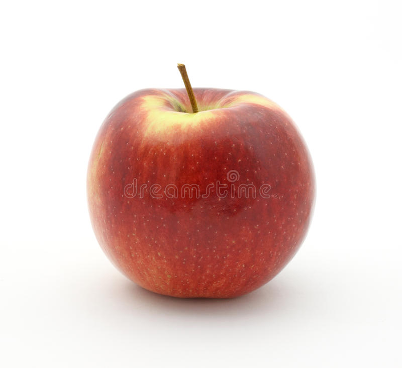 De appel van het imperium op witte achtergrond stock fotografie