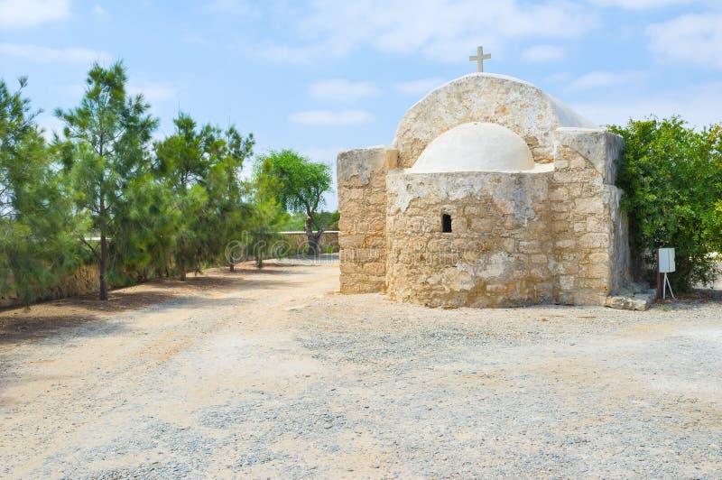 De apsis van de kerk stock foto's