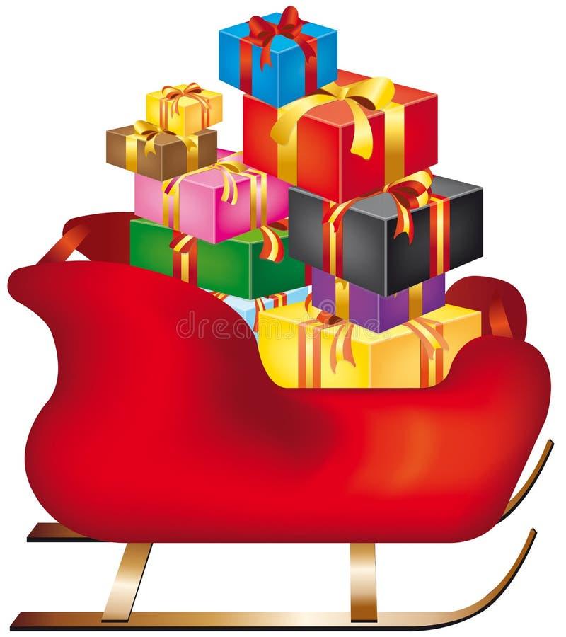 De ar van Kerstmis vector illustratie