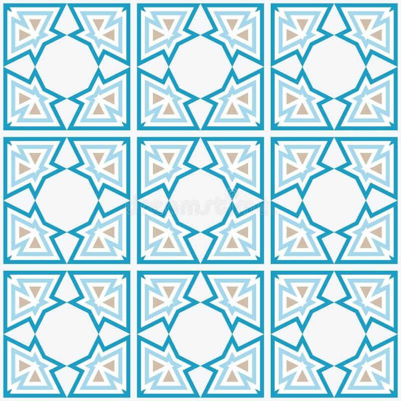 De Arabische Achtergrond van de Tegel royalty-vrije illustratie