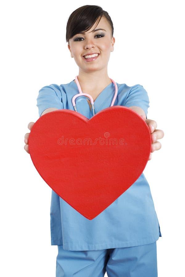 De arbeider van de gezondheidszorg royalty-vrije stock foto