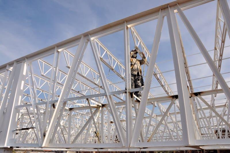 De arbeider van de structuur stock foto