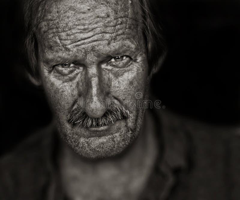 De Arbeider van het landbouwbedrijf stock fotografie