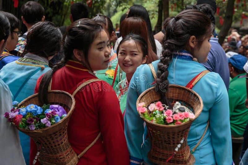 De Arbeiders van China stock fotografie