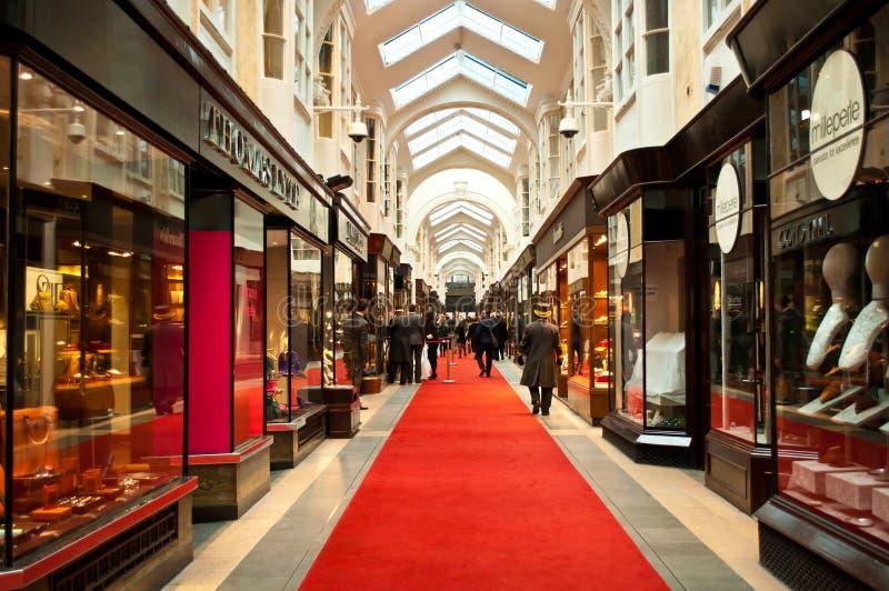 De Arcade van Burlington royalty-vrije stock afbeelding