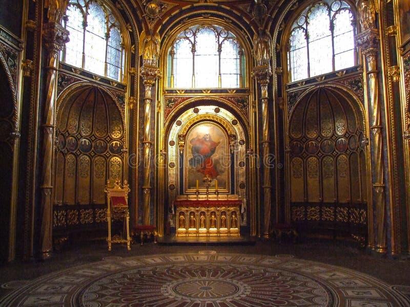 De Archcathedral-Basiliek van St Peter en St Paul in Poznan stock foto's