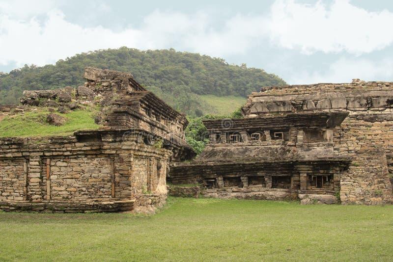 De Archeologische Ruïnes van Gr Tajin, Veracruz, Mexico royalty-vrije stock foto