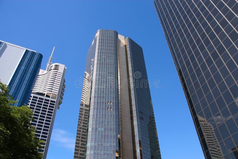 De architectuur van Brisbane royalty-vrije stock foto's