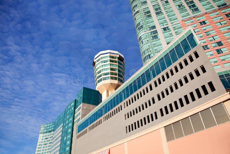 De Architectuur van Canada van het Niagara Falls stock foto's