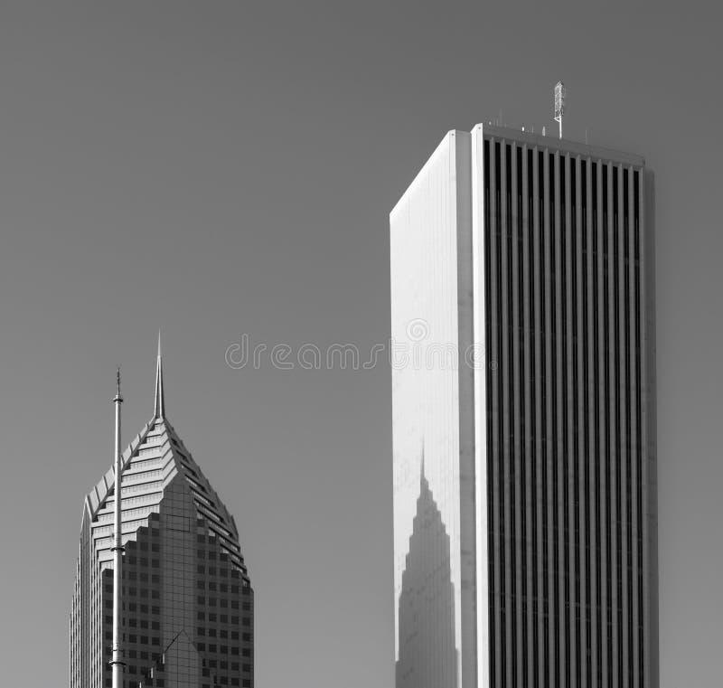 De Architectuur van Chicago stock afbeelding