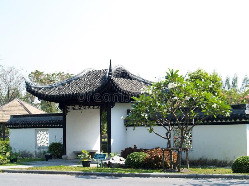 De architectuur van China royalty-vrije stock afbeelding