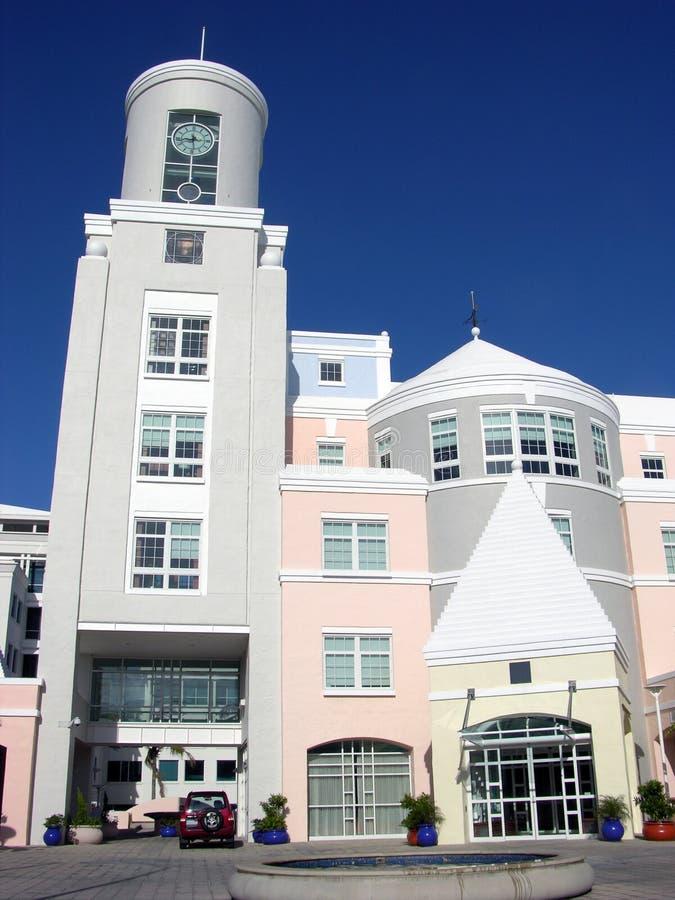 De Architectuur van de Bermudas stock foto's