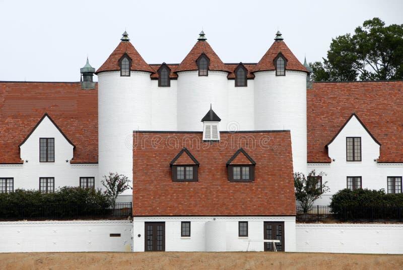 De Architectuur van de Stijl van Normandië stock foto's