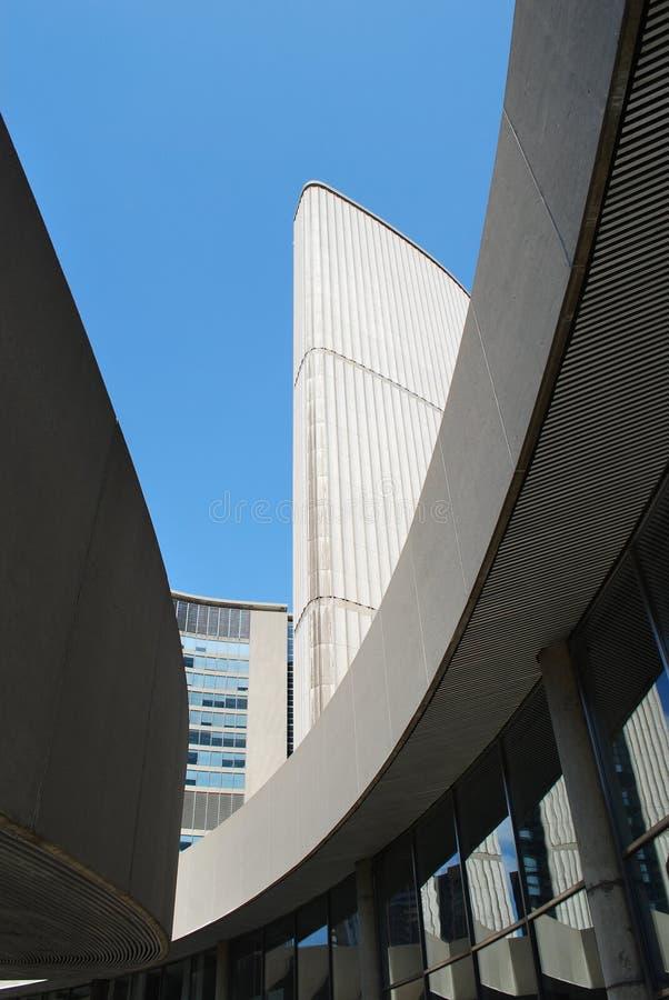 De Architectuur van het stadhuis royalty-vrije stock afbeeldingen