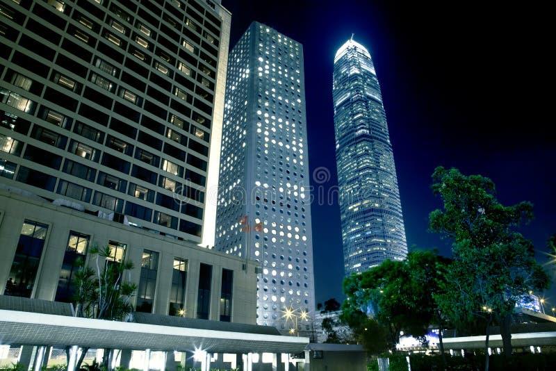 De Architectuur van Hongkong royalty-vrije stock foto's