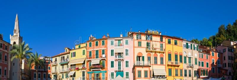 De architectuur van Lerici, Italië royalty-vrije stock foto's