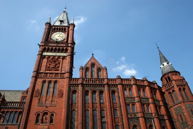 De architectuur van Liverpool stock afbeelding