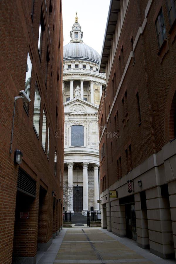 De Architectuur van Londen, st pauls royalty-vrije stock afbeeldingen