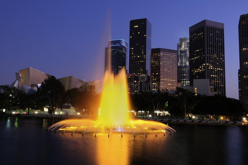 De architectuur van Los Angeles royalty-vrije stock afbeelding