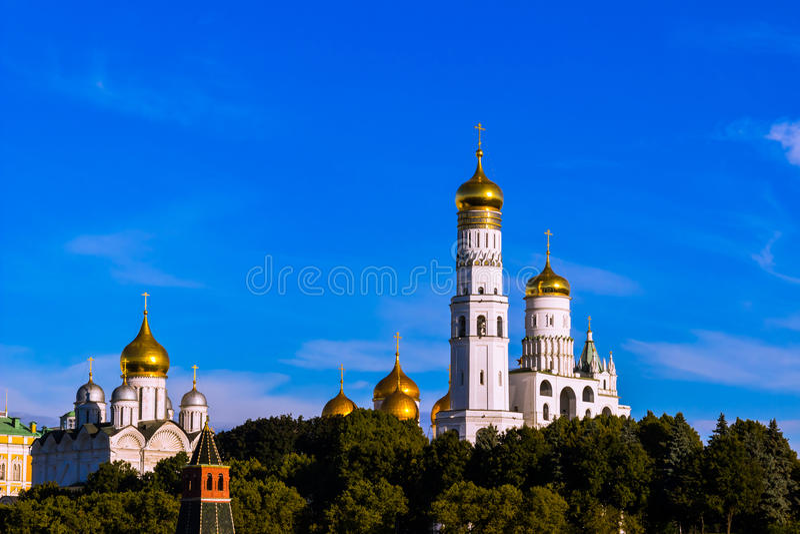 De architectuur van Moskou stock foto