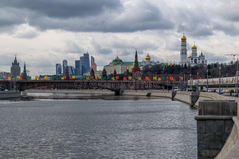 De architectuur van Moskou royalty-vrije stock fotografie