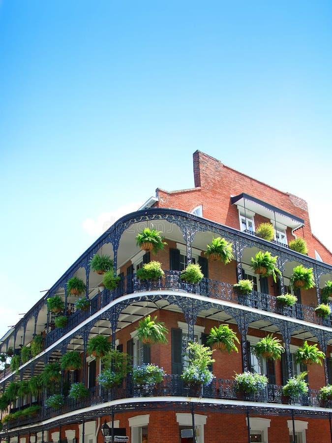 De Architectuur van New Orleans stock foto