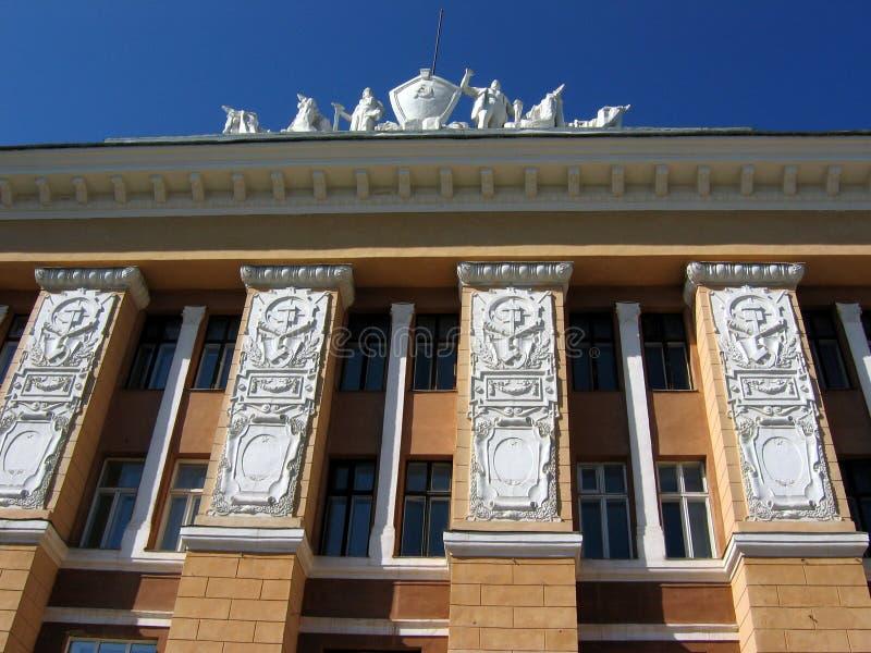De architectuur van Tomsk royalty-vrije stock foto's