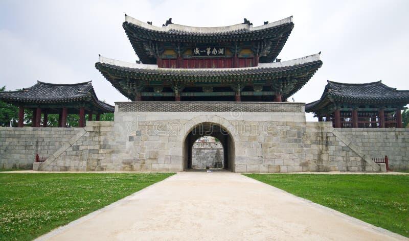 De architectuur van Zuid-Korea royalty-vrije stock foto