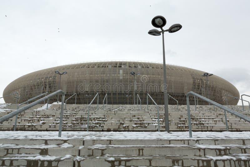 De Arena Krakau van Krakau - Tauron- stock fotografie
