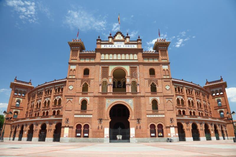 De arena Plaza DE Toros DE Las Ventas van Madrid royalty-vrije stock foto's
