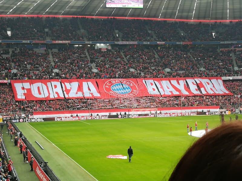 De Arena van Allianz stock afbeelding