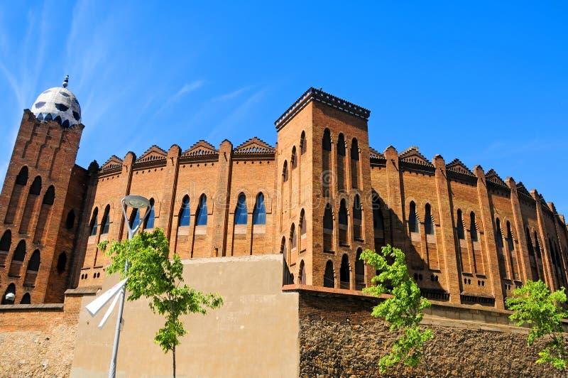 De arena van Barcelona, Spanje stock foto's
