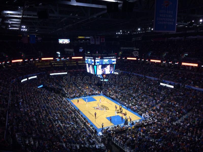 De Arena van de de Stadsdonder van Oklahoma stock afbeeldingen