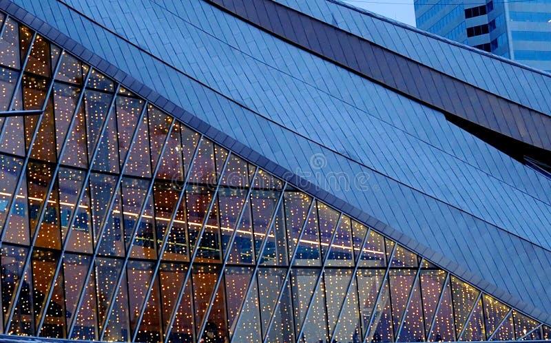 De Arena van de Rodger` s Plaats in Edmonton Alberta royalty-vrije stock foto