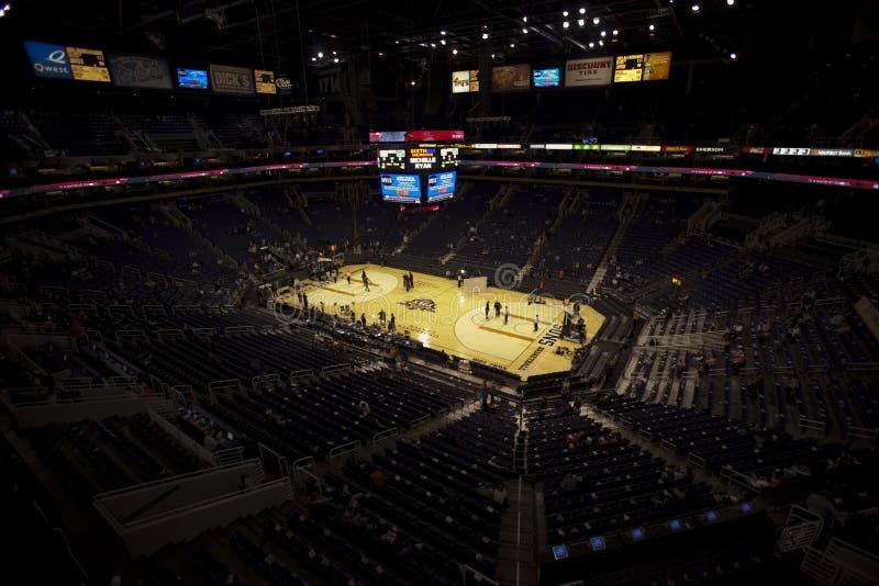 De Arena van de Zonnen van Phoenix, het centrum van de Luchtroute van de V.S. stock fotografie