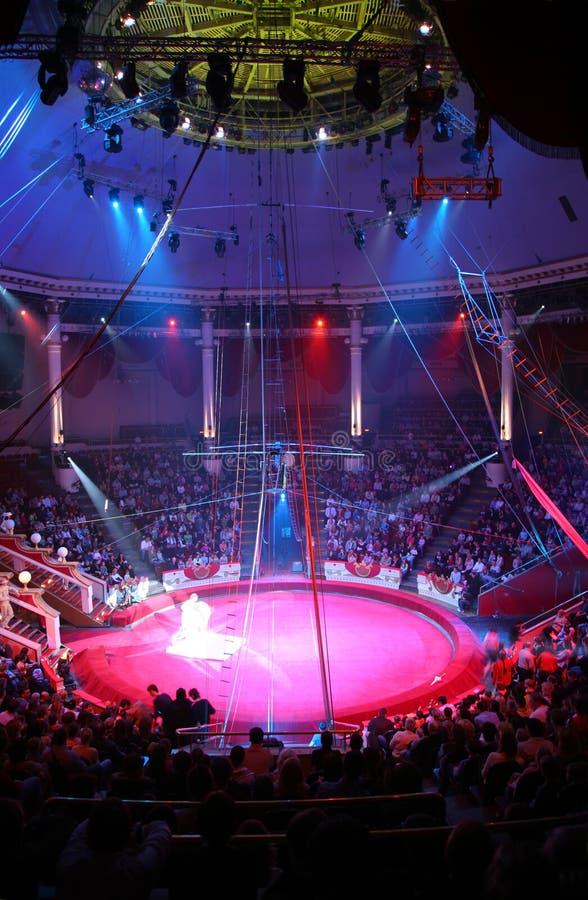 De arena van het circus royalty-vrije stock afbeelding