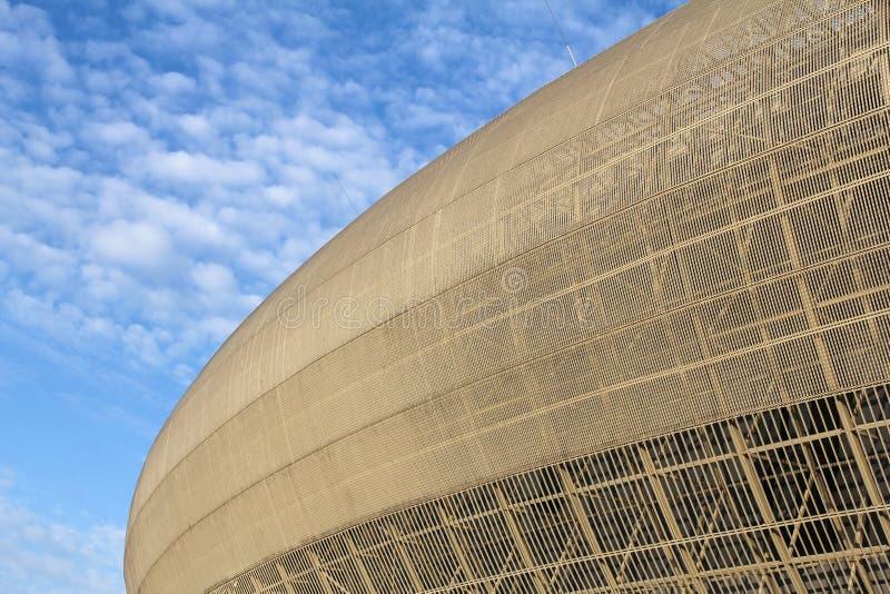 De Arena van Krakau, Polen stock afbeelding