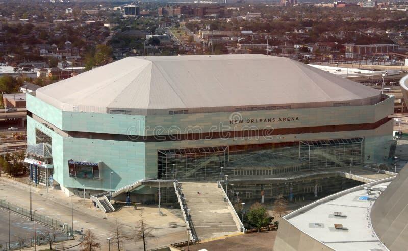 De Arena van New Orleans stock fotografie