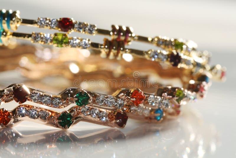 De Armband van de diamant royalty-vrije stock afbeeldingen