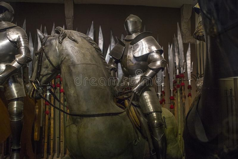 De Armory in het Doges Palace in Venetië royalty-vrije stock fotografie