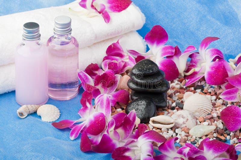 De aroma-therapie van het kuuroord royalty-vrije stock afbeelding