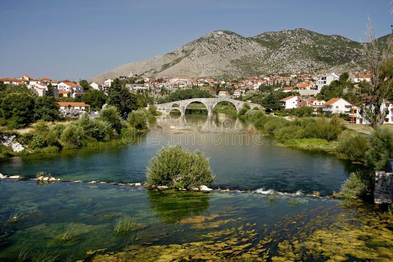 De Arslanagic Brug, Trebinje, Bosnia royalty-vrije stock foto