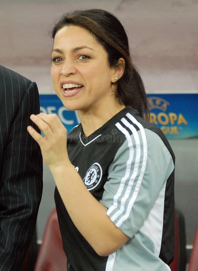 De arts Eva Carneiro van Chelsea stock foto