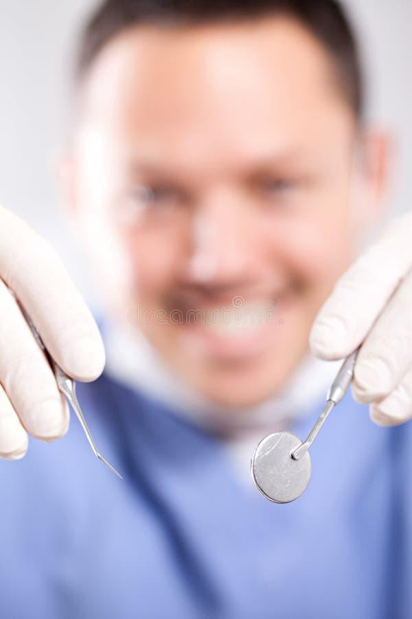 De arts van de tandarts royalty-vrije stock fotografie