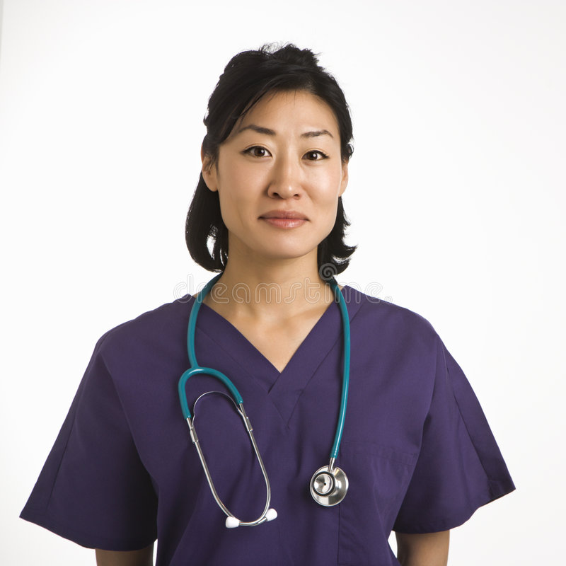 De arts van de vrouw. stock afbeelding