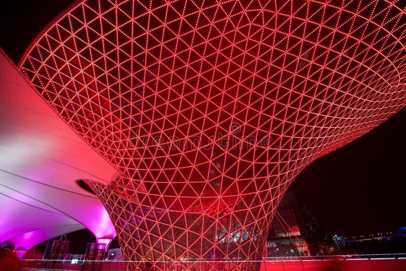 De As Shanghai-Expo van Expo 2010 stock foto's