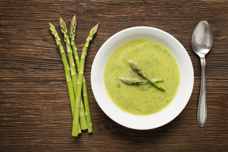 De asperge soup royalty-vrije stock afbeelding