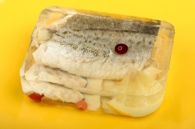 De aspic van vissen royalty-vrije stock fotografie