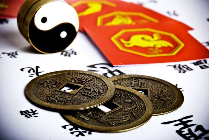 De astrologie van China stock foto